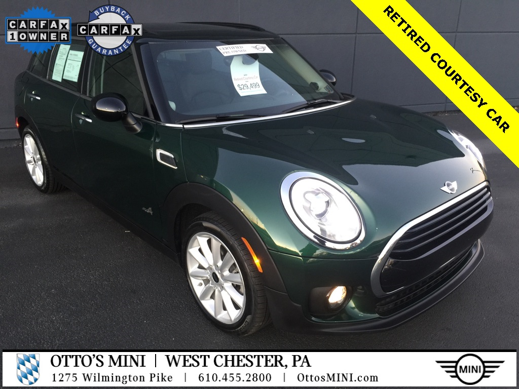 Certified Pre-Owned 2018 MINI Clubman Cooper