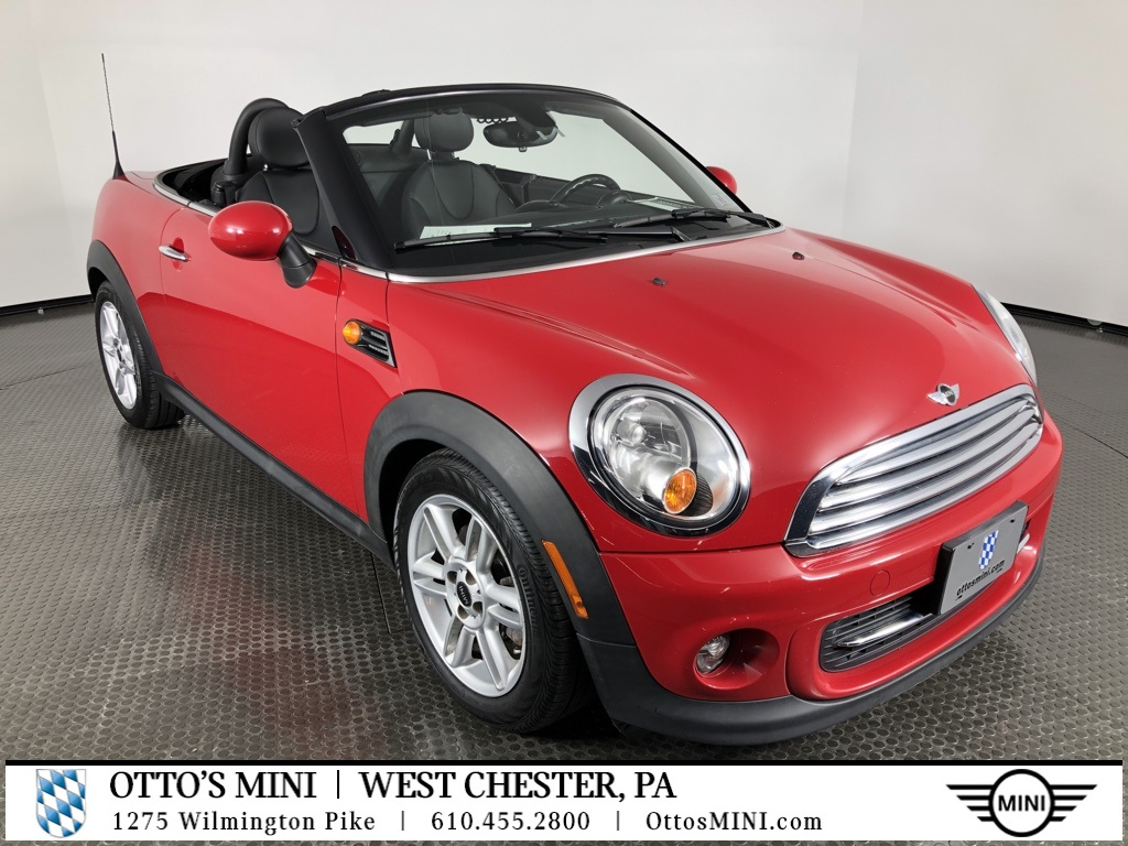 Pre-Owned 2013 MINI Cooper Roadster Base