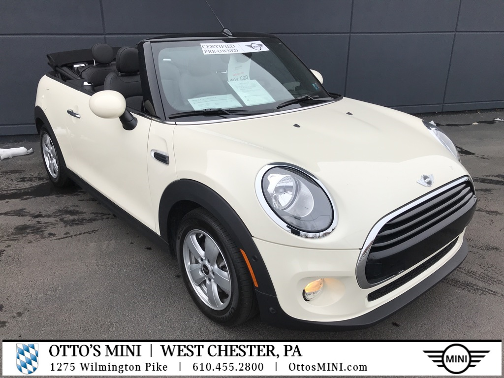Certified Pre-Owned 2016 MINI Convertible Cooper