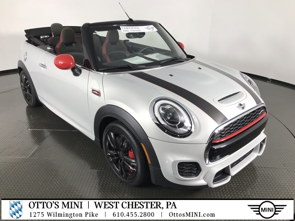 Certified Pre-Owned 2017 MINI Convertible John Cooper Works