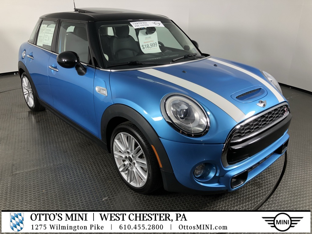 Certified Pre-Owned 2015 MINI Cooper Hardtop 4 Door S