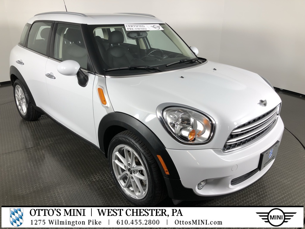 Certified Pre-Owned 2016 MINI I Cooper Countryman FWD Base